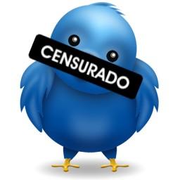 Twitter censurado.